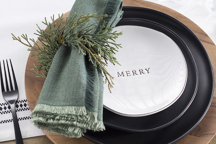 Simple Holiday Decorating Napkin-rings-greenery