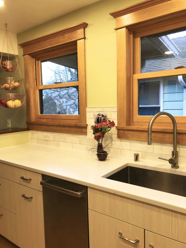 New Window and Dishwasher