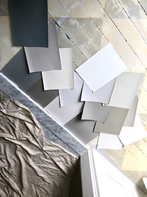 Floor paint Selection