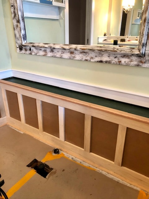 New Wainscot Matches Existing