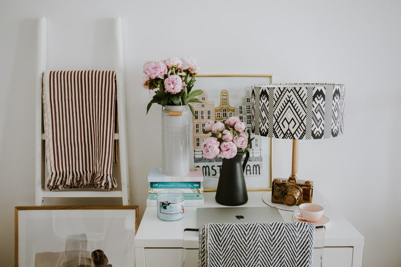 Staging your Desk or Tabletop with Bling
