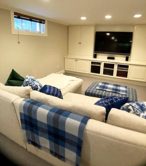 Comfy Media Room