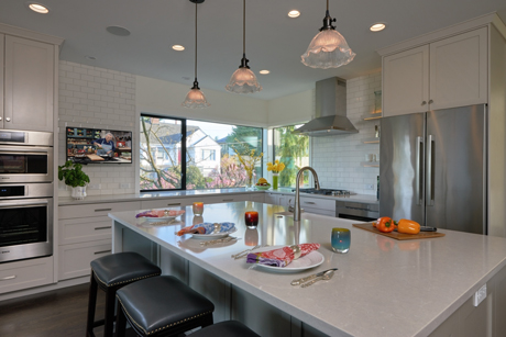 View Looking NorthEast-Award Winning Kitchen Design
