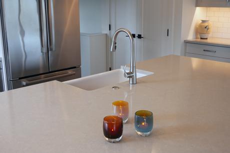 Detail of Faucet-Award Winning Kitchen Design