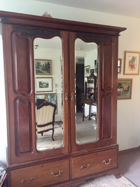 Art Nouveau Armoire