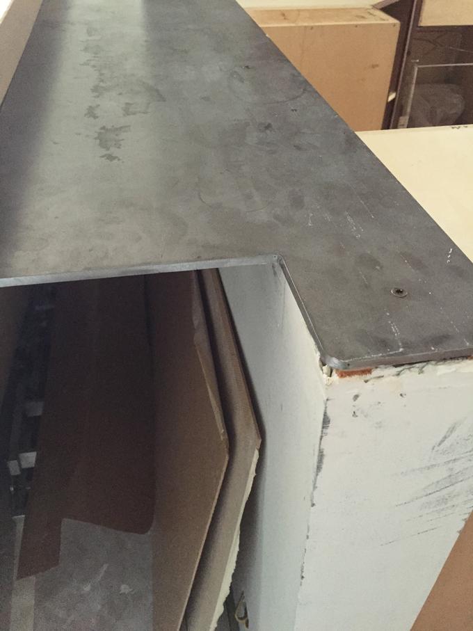 Enlarging and Lowering the Bar Top