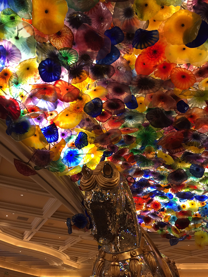 Chihuly Glass Ceiling at the Bellagio