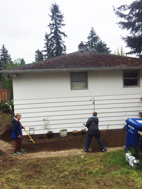 Rebuilding Together Seattle Back Yard