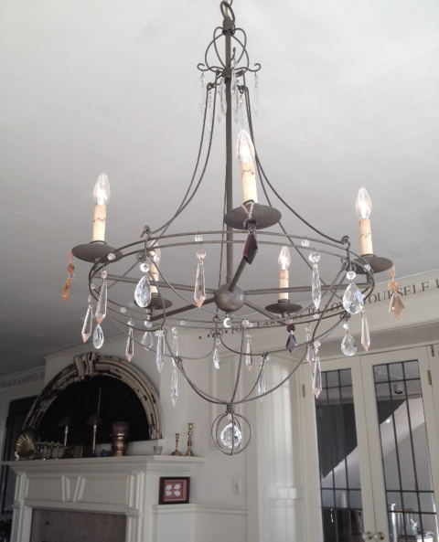 living dining chandelier