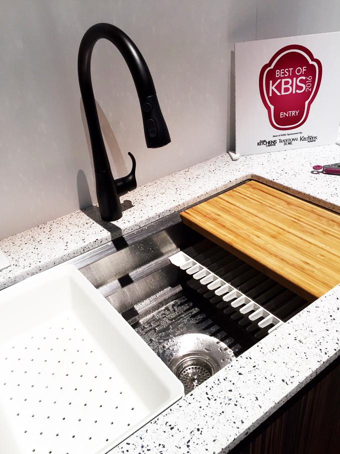 Matte Black Finish Faucet Kitchen Design Trends 2016