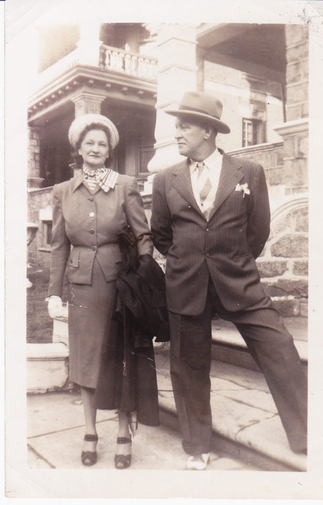 Nana and Pop Pop Philadelphia circa 1945