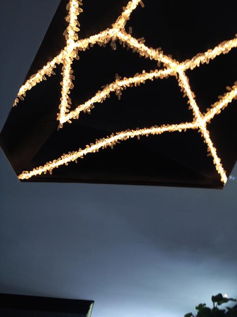 Unique Rock Crystal Ceiling Light