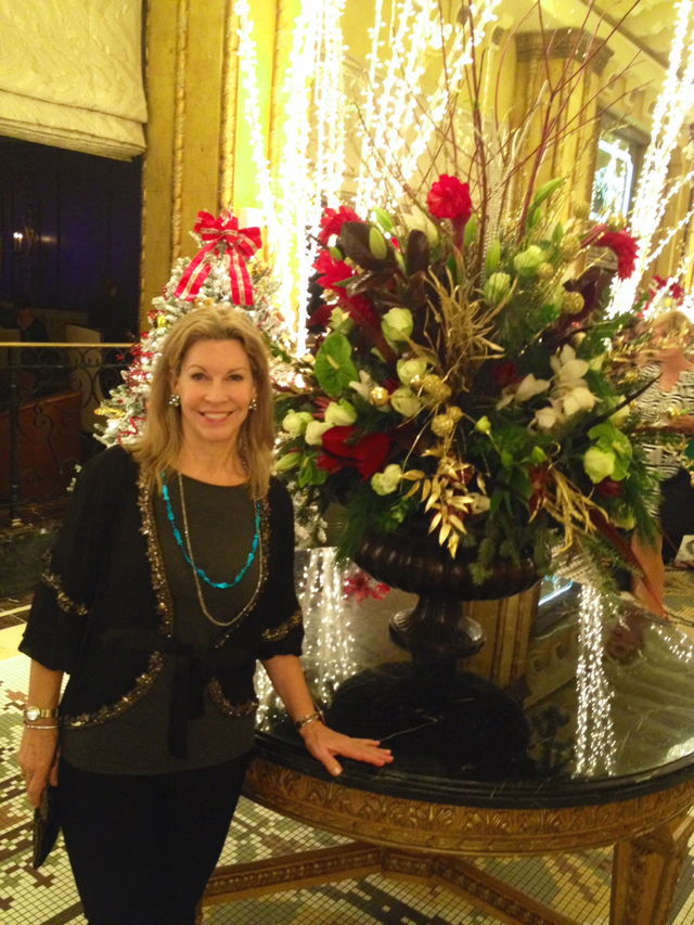 Holiday Arrangement at the Roosevelt