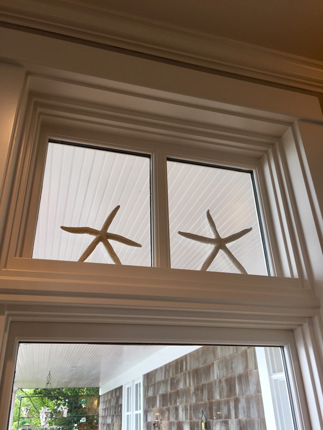 Starfish in Every Window Waterfront Renovation