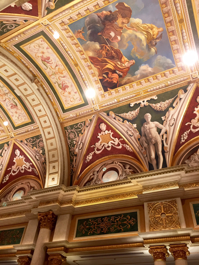 Replication of the Sistine Chapel at the Venetian